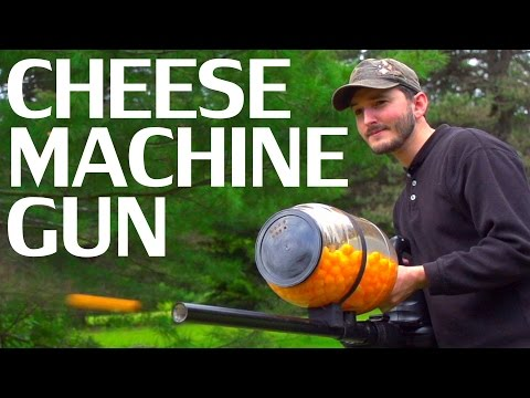 Woody and Wilcox - Learn How To Make A Cheeseball Machine Gun