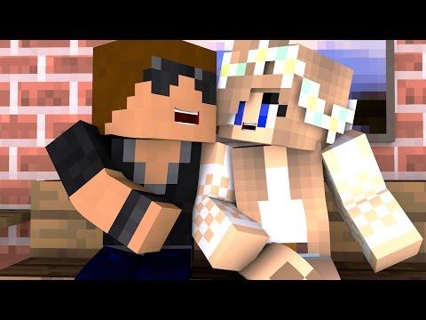"Kissing My Friend   Minecraft Girlfriend S:1 Ep.8 ""Minecraft Roleplay"""