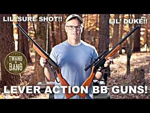 Lever Action BB Guns! Lil' Duke & Lil' Sure Shot