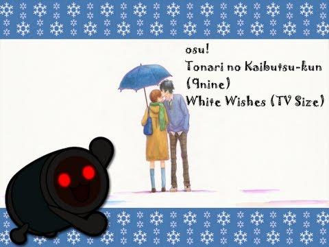 osu! (Taiko) Tonari no Kaibutsu-kun (9nine) ~ White Wishes (TV Size) [MM's Insane]