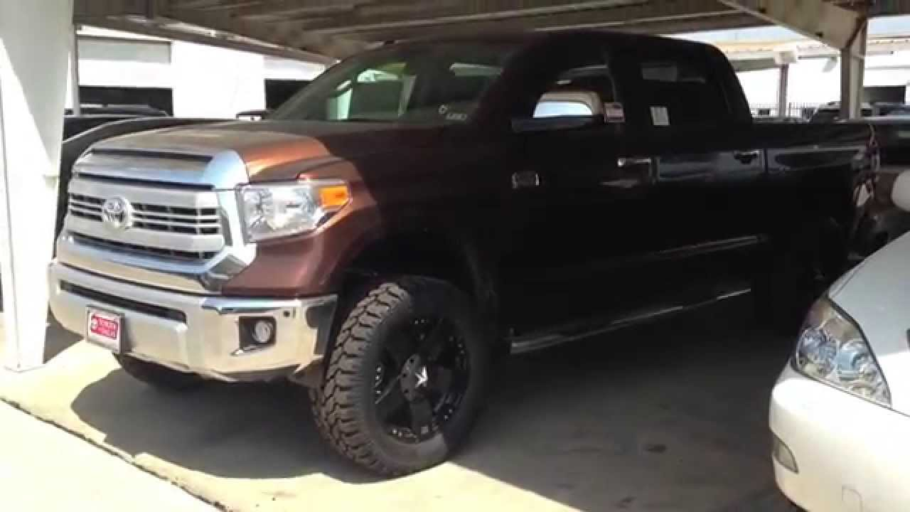 2018 Toyota Tundra Double Cab >> 2014 Toyota Tundra 1794 4X4 with Lift Kit and Rock Star ...
