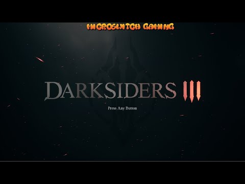Darksiders III - Quick look at the start of the game |