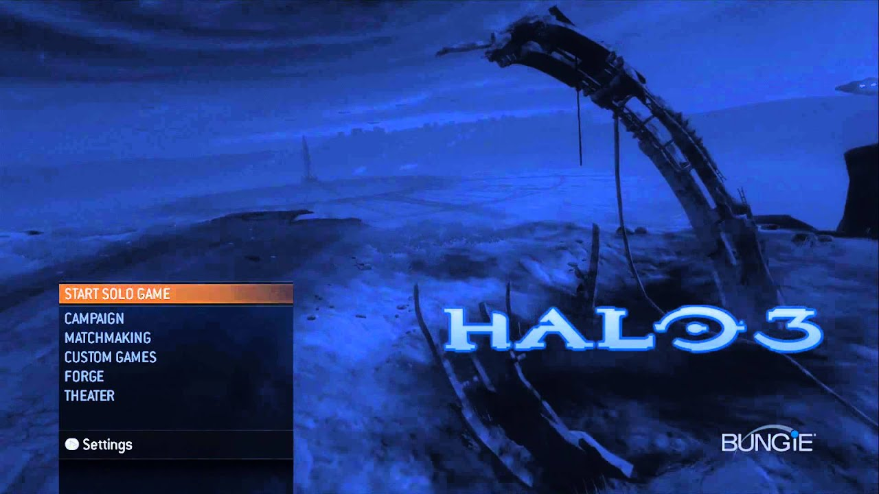 halo 3 main menu music - hd 1080p - youtube