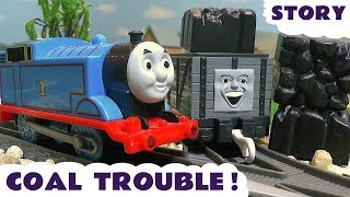 thomas and friends toy trains coal prank fun family friendly toys story for kids toytrains4u