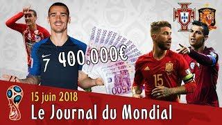 Griezmann reste, les primes des bleus, portugal-espagne... le journal du mondial 2018
