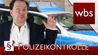 Darf ich mich gegen eine Polizeikontrolle wehren? | Rechtsanwalt Christian Solmecke