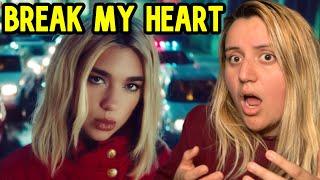 Dua Lipa - Break My Heart | Reaccion | Video Oficial