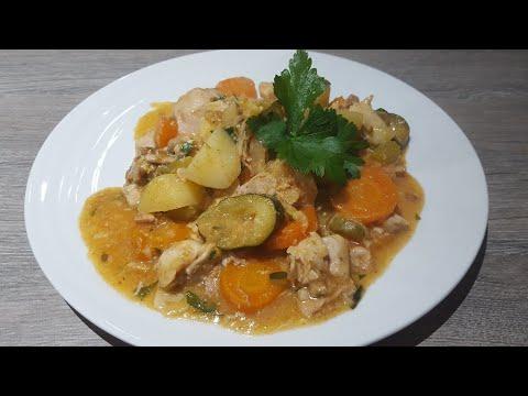 Chicken Casserole In A Slow Cooker  / Kurczak Z Wolnowaru