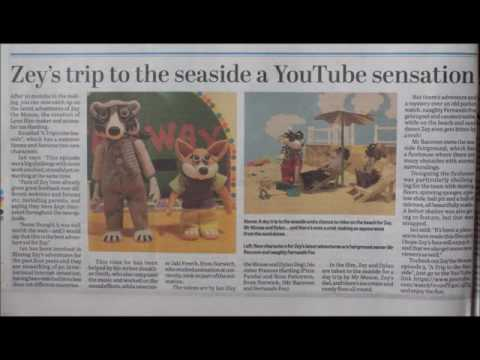 Lynn News EDP Peterborough Telegraph, Zey The Mouse and School Time Capsule Dig,  2016