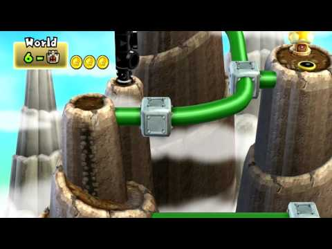 [New Super Mario Bros Wii 3+] World 6 - Pipe Land