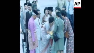 UPITN 11 4 79 BANGLADESH PRESIDENT ZIAUR RAHMAN ARRIVAL