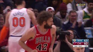 3rd Quarter, One Box Video: Chicago Bulls vs. New York Knicks