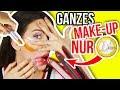 MIT 1€ SHOP SCHMINKE GANZES MAKE-UP SCHMINKEN?!! 😵💄 Geht das? 1 Euro Shop EXPERIMENT   Kim Lianne