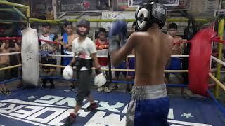 Phil-Aust Boxing sparring Sean Oneil vs Dyllan 11/13/18