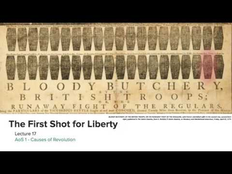 The First Shot for Liberty: Lexington and Concord