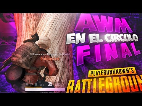 ¡SNIPER AWM SALVADOR! LA BUGEADA... | PLAYERUNKNOWN'S BATTLEGROUNDS (PUBG)