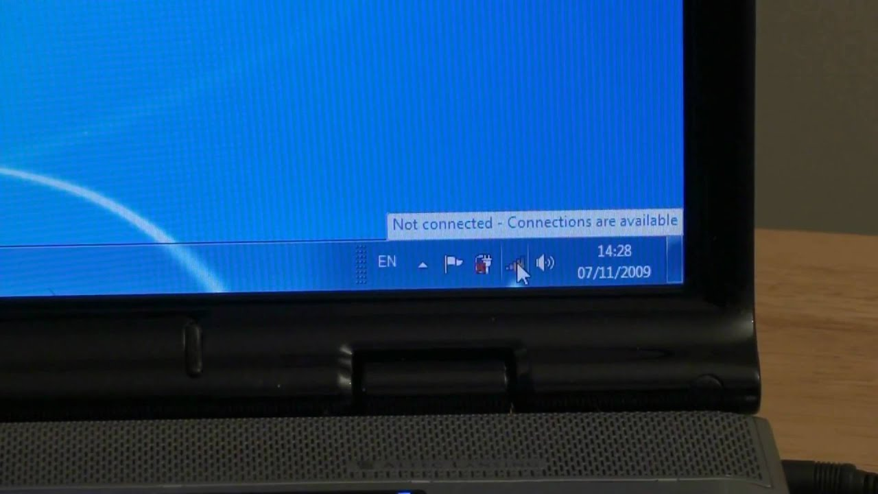 Connect to Wireless Network - Windows 7 - YouTube