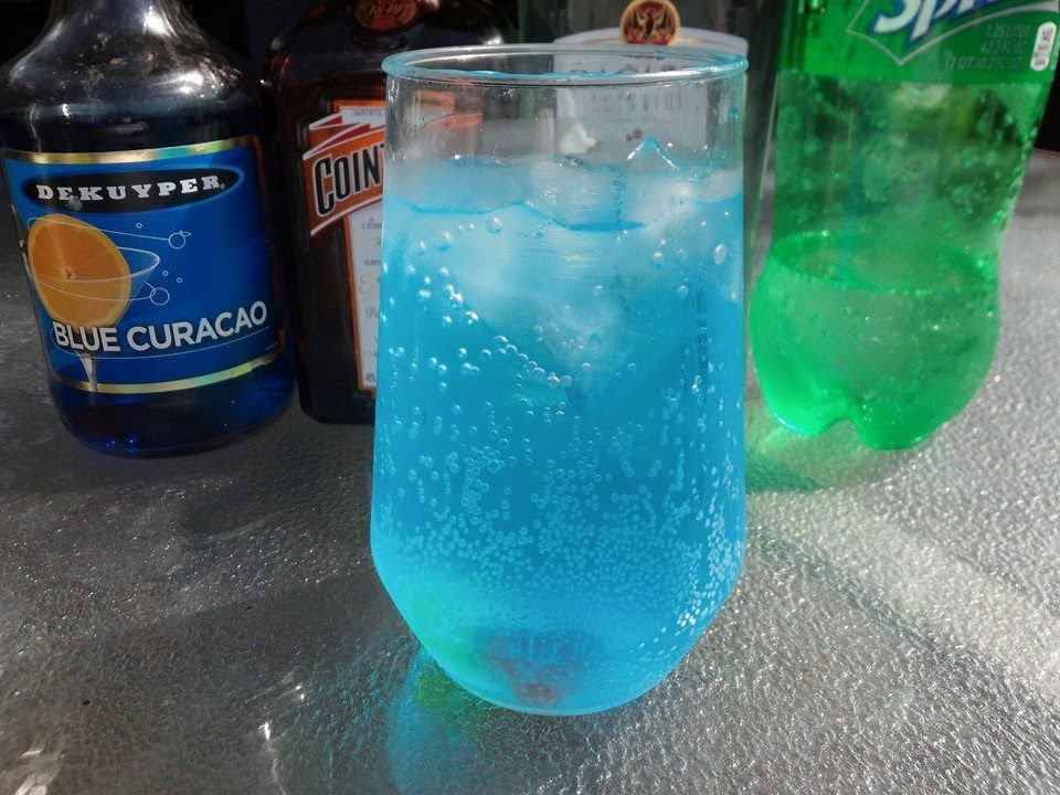 Blue Drink Recipes Without Alcohol