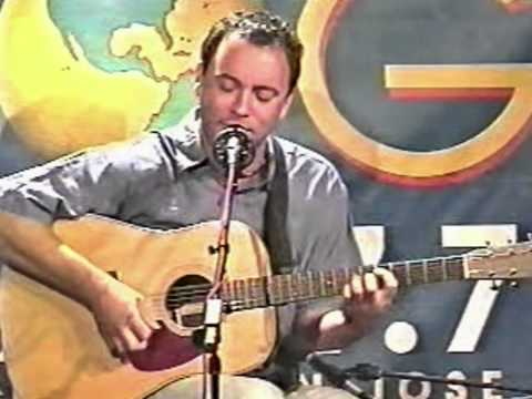 Dave Matthews (Solo) - 7/10/99 - The Stone - Bartender(Early) - Don't Drink The Water - KFOQ Studio