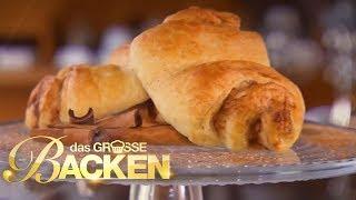 Butterweiches Franzbrötchen | Das große Backen 2017 | SAT.1 TV