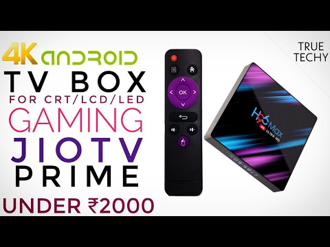 Android Tv Box For Gaming, JioTv, 4GB/64GB, Android 9 Under ₹2000, 4K Tv Box, Bluetooth, 5GHz Wifi