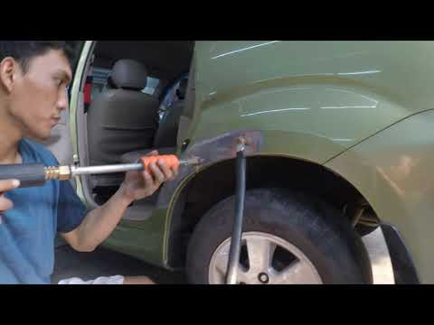 Body Repair Avanza Penyok Part 1 ( Dent Repair & Prep )