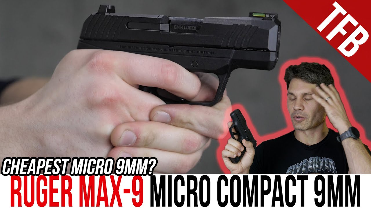 Ruger MAX-9: It's the Cheapest, But is it Good?