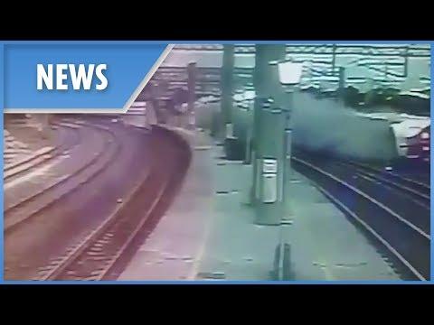 Detenido el conductor del tren que descarriló en Taiwán y dejó 18 muertos