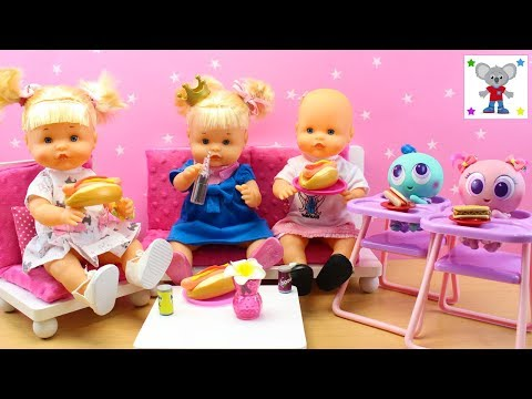 Fiesta de chicas de las nenuco hermanitas traviesas en doovi - Cocina de nenuco ...