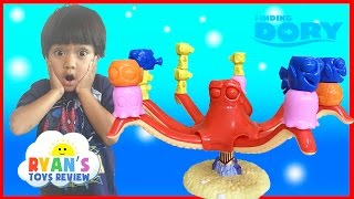 FINDING DORY GAME with Disney Pixar Finding Nemo Egg Surprise Toys