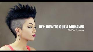 DIY: HOW TO CUT A MOHAWK
