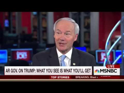 Arkansas Gov. Asa Hutchinson on MSNBC