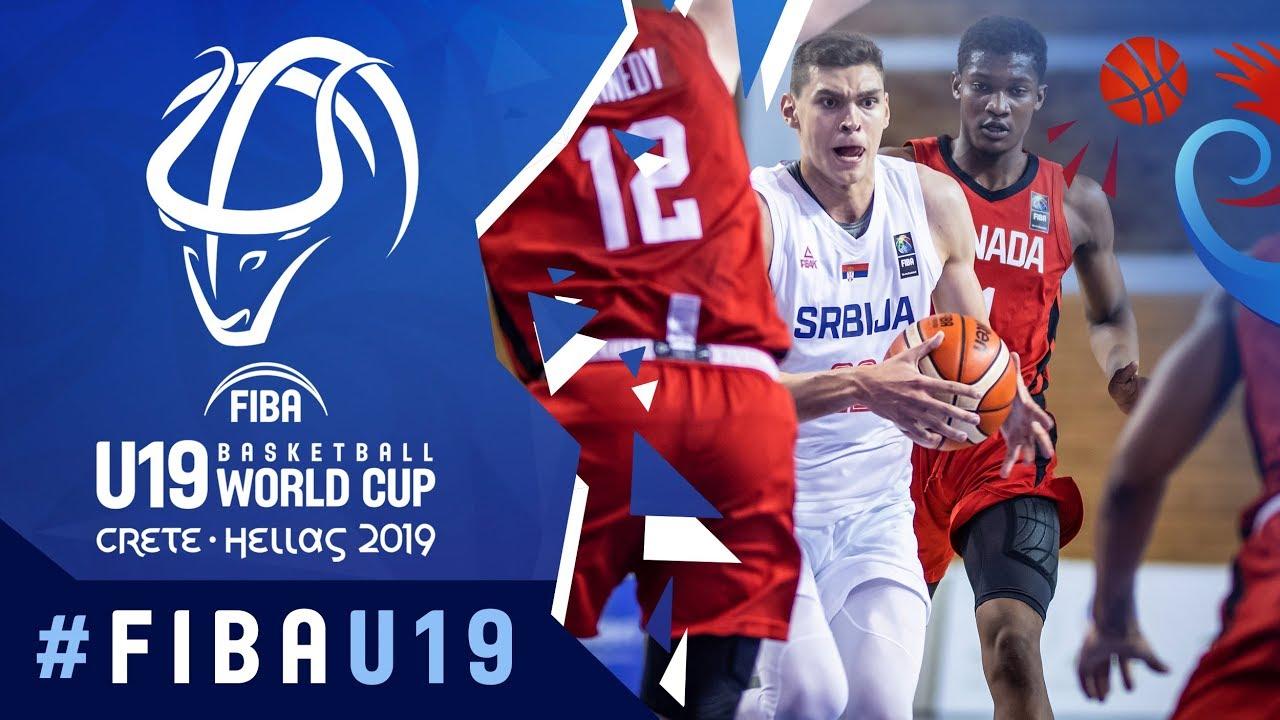 Serbia v Canada - Highlights - Class 7-8 - FIBA U19 Basketball World Cup 2019
