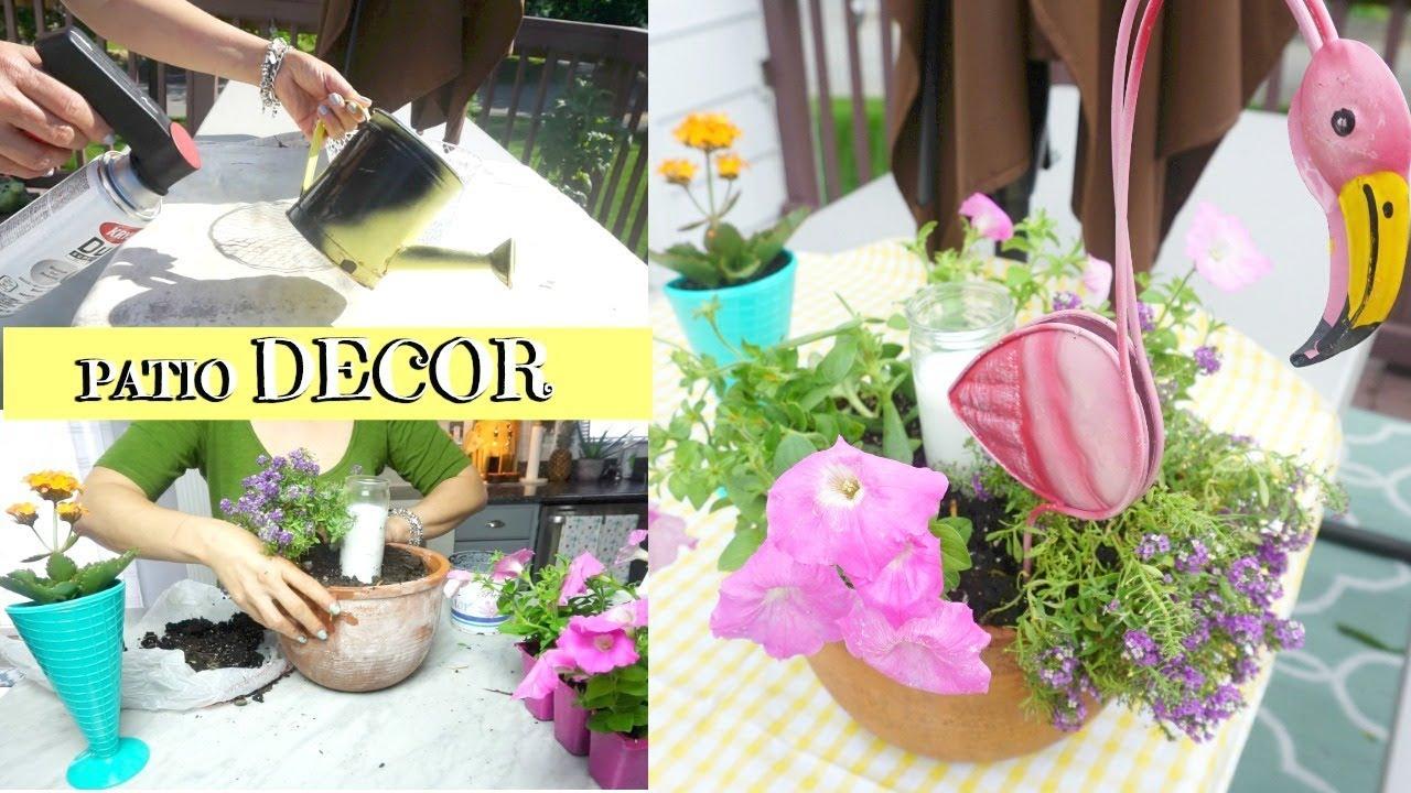 Ideas hermosas para decorar tu patio y bbq decorando el - Decorar jardin con poco dinero ...
