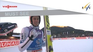 3rd place in Large Hill for Stefan Kraft - Garmisch - 4HT - Ski Jumping - 2016/17