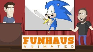 Sonic at the Cinema - Funhaus Animated