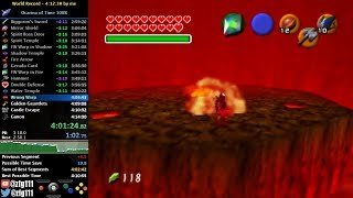 Ocarina of Time 100% Speedrun in 4:11:08