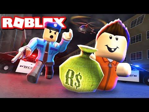 CRIMINAL BABIES ROB A BANK! - Roblox Jailbreak
