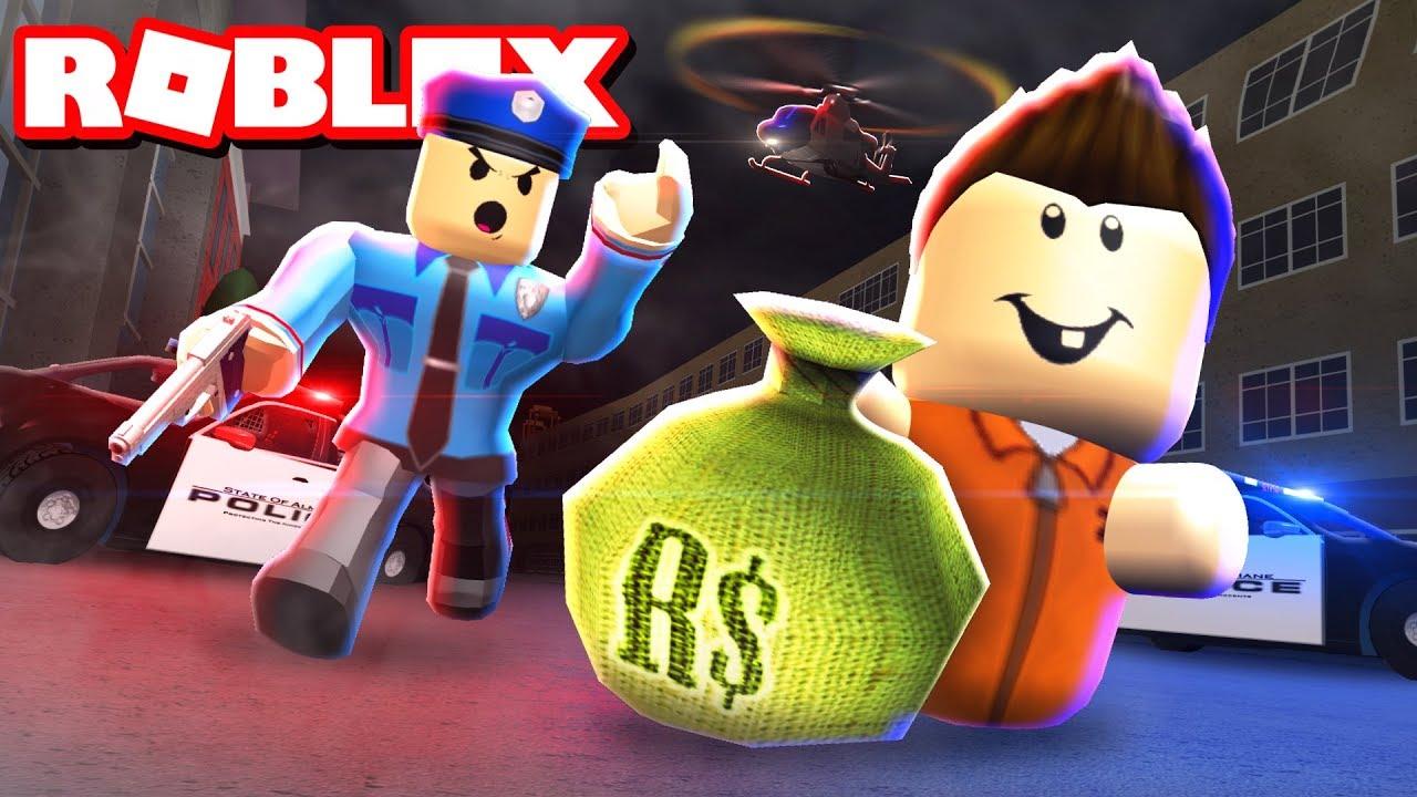 CRIMINAL BABIES ROB A BANK! - Roblox Jailbreak - YouTube