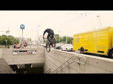 """Urban Stair Gaps: Behind the Scenes of """"Urban Freeride Lives in Vienna"""""""
