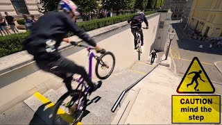 "Urban Stair Gaps: Behind the Scenes of ""Urban Freeride Lives in Vienna"""