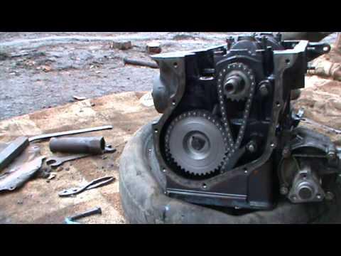 Как собрать двигатель ВАЗ 2106 (Нива) часть 2. Сделай Сам!