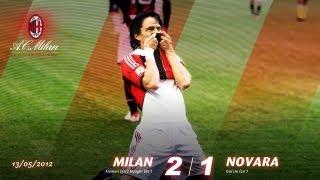 Milan-Novara 2-1