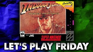 Cave Carnage & Fiery Escapes in Indiana Jones Greatest Adventures (SNES) - Let's Play Friday. thumbnail