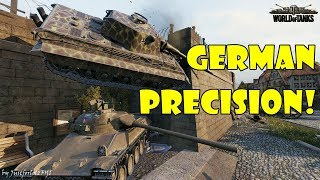 World of Tanks - Funny Moments | GERMAN PRECISION! (Made in Germany 2)