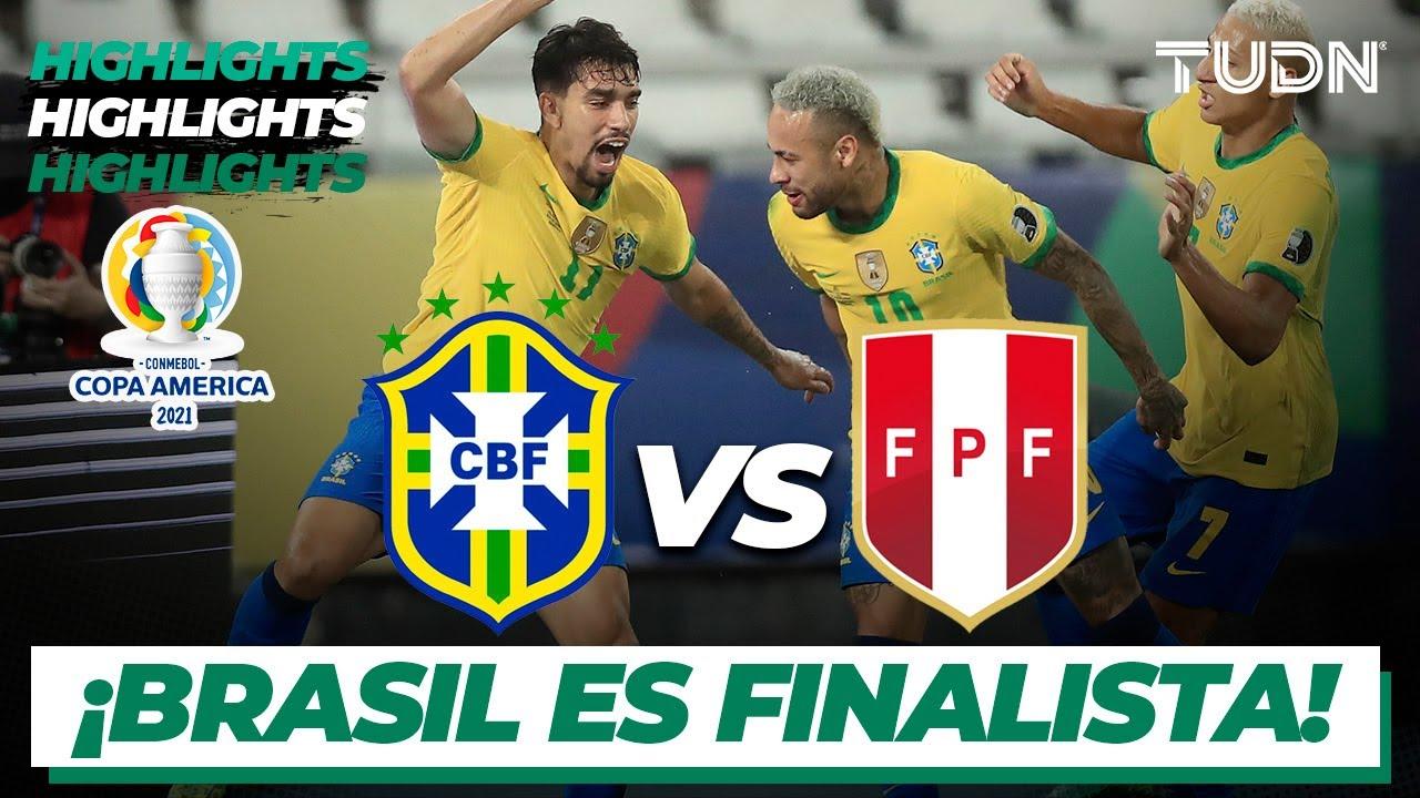 Brasil vs Per: Resumen en video del partido de semifinales de la ...