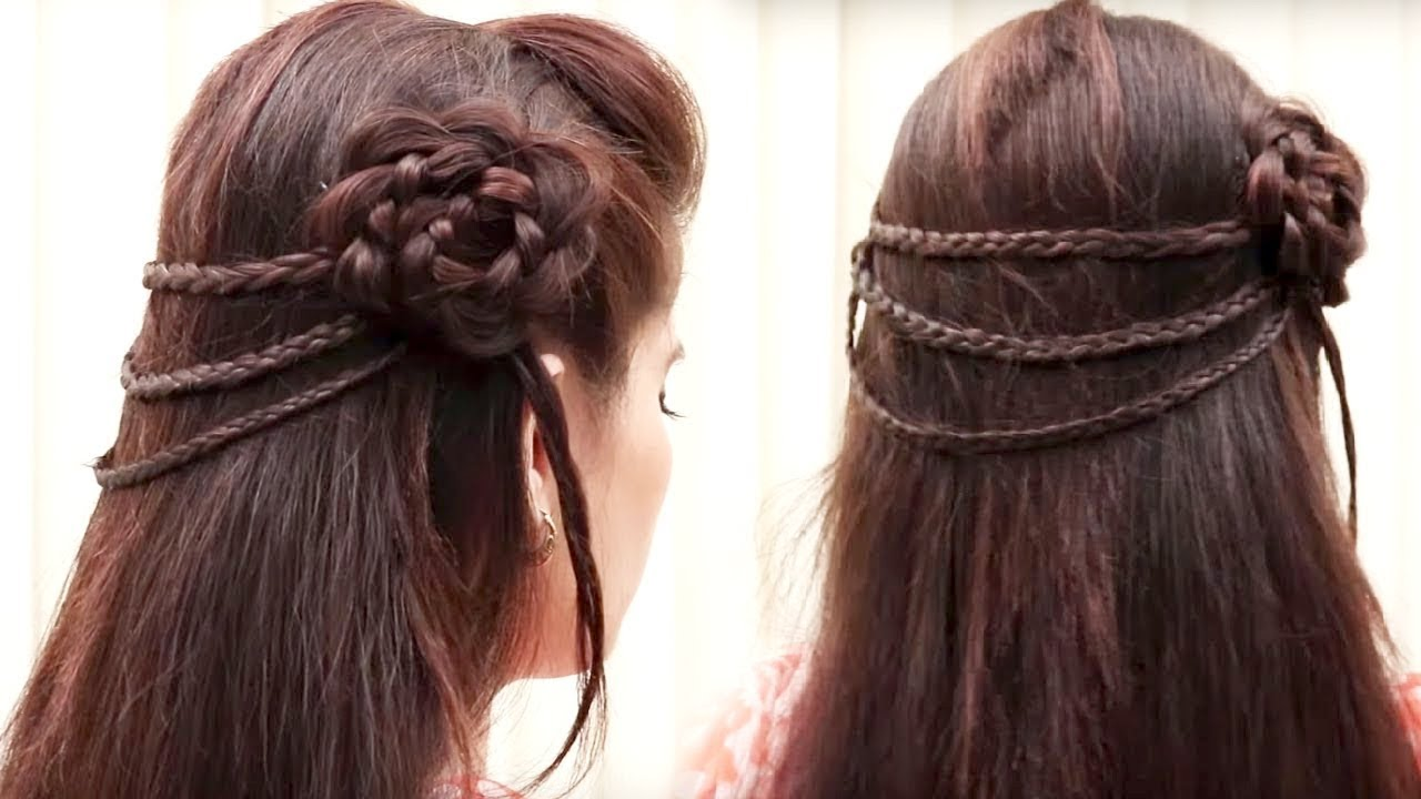Party Hairstyle For Young Girls 2018