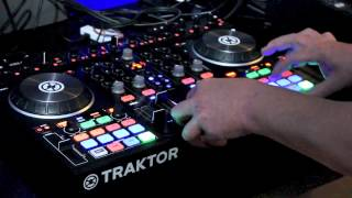 Native Instruments Traktor Kontrol S4 MK2 Demonstration @ The Disc DJ Store