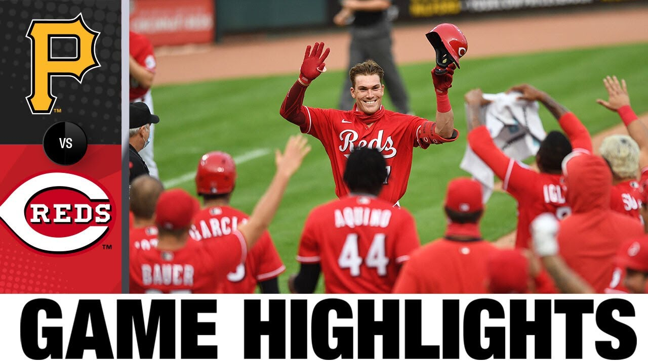 Tyler Stephenson hits walk-off HR in 3-1 win | Pirates-Reds Game Highlights 9/14/20