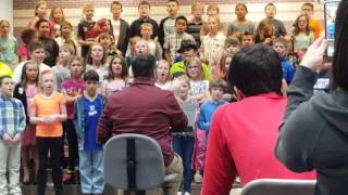 Sni-a-bar 3rd grade choir